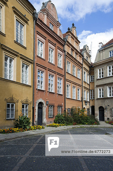 Platz der Kanoniker  Kanonia  Warschau  Masowien  Polen  Europa