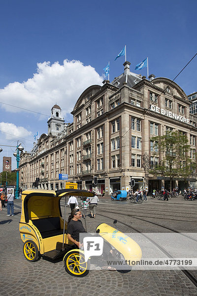 Magazijn De Bijenkorf  Einkaufszentrum  Amsterdam  Holland  Niederlande  Europa