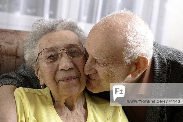 Paar  Senior  92 Jahre  Seniorin  89 Jahre