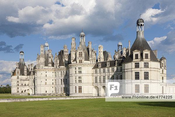 Schloss Chambord  Department Loire et Cher  Region Centre  Frankreich  Europa
