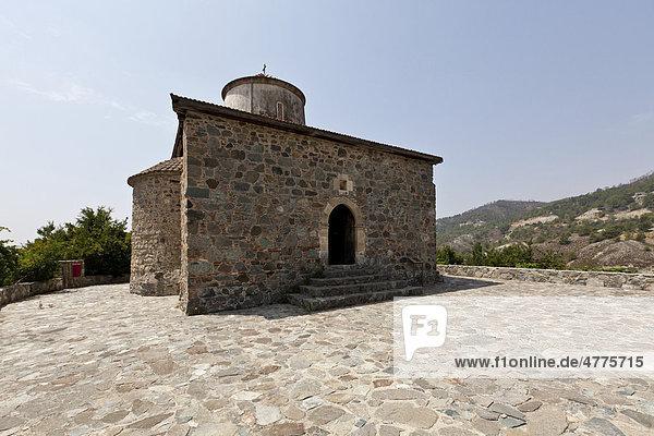 Stavros Kirche  UNESCO-Weltkulturerbe  Agros  Troodos-Gebirge  Zentralzypern  Zypern