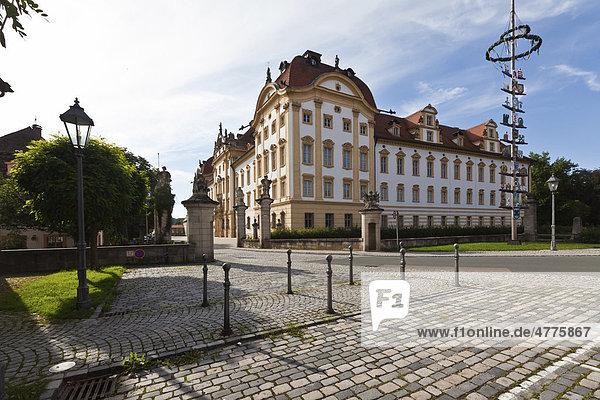 Residenz Ellingen  Kreis Weißenburg-Gunzenhausen  Mittelfranken  Franken  Bayern  Deutschland  Europa