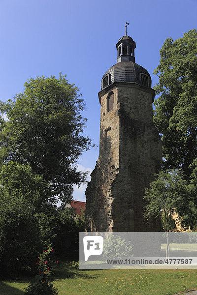 Treppenturm des Kloster Maria Bildhausen bei Münnerstadt  Landkreis Bad Kissingen  Unterfranken  Bayern  Deutschland  Europa