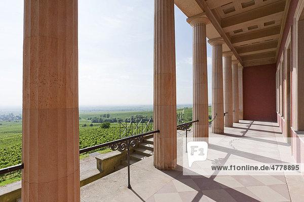 Villa Ludwigshöhe  bei Edenkoben  Deutsche Weinstraße  Pfalz  Rheinland-Pfalz  Deutschland  Europa
