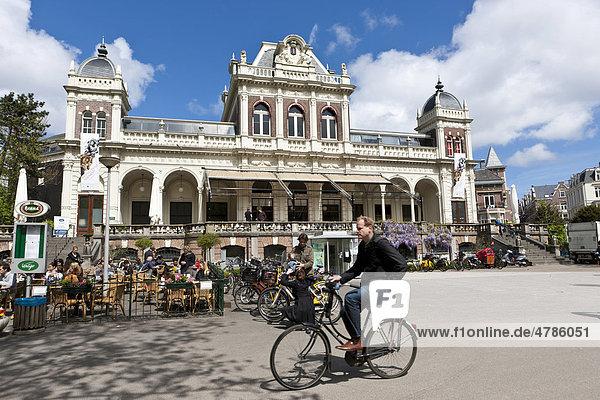 Das Filmmuseum im Vondelpark  Amsterdam  Holland  Niederlande  Europa