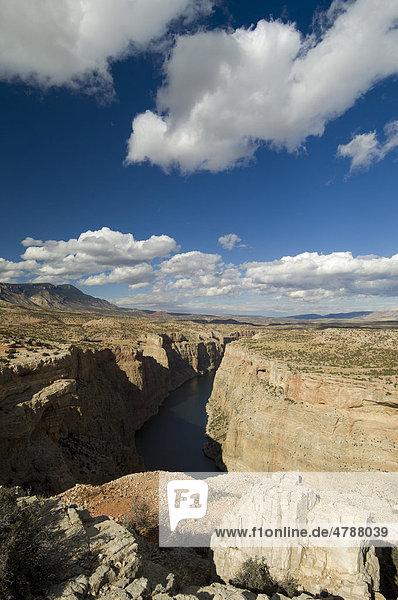 Bighorn Canyon National Recreation Area Nationales Erholungsgebiet  Wyoming  USA  Amerika