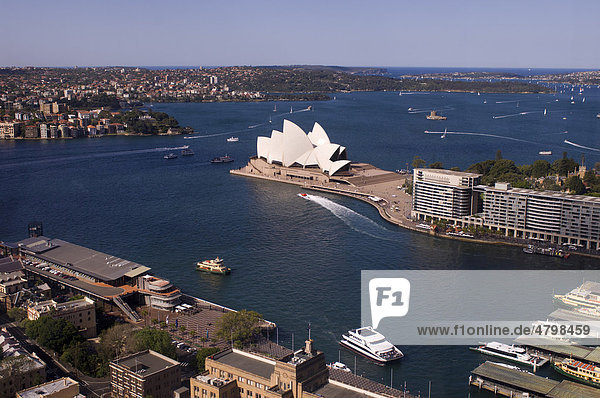 Sydney Opera House  Opernhaus  Sydney  Bundesstaat New South Wales  Australien