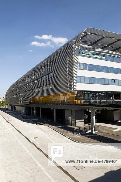ZOB Zentraler Omnisbusbahnhof  ausgezeichnet von der Bayerischen Architektenkammer 2010  München  Bayern  Deutschland  Europa