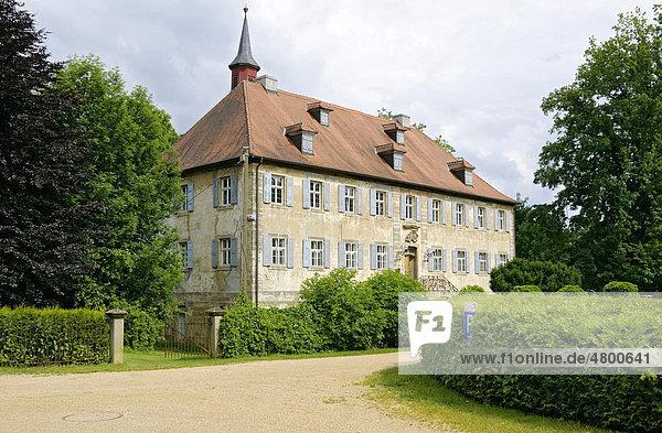 Schloss Buttenheim  Franken  Bayern  Deutschland  Europa
