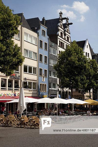 Altstadt  Alter Markt  Köln  Nordrhein-Westfalen  Deutschland  Europa