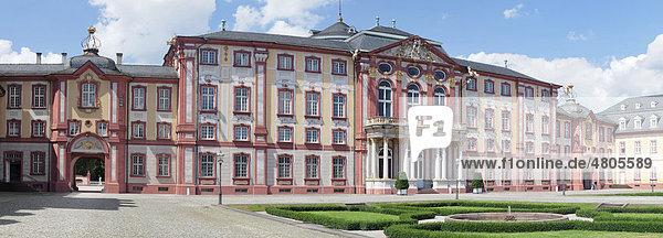 Schloss Bruchsal  Baden-Württemberg  Deutschland  Europa Schloss Bruchsal, Baden-Württemberg, Deutschland, Europa