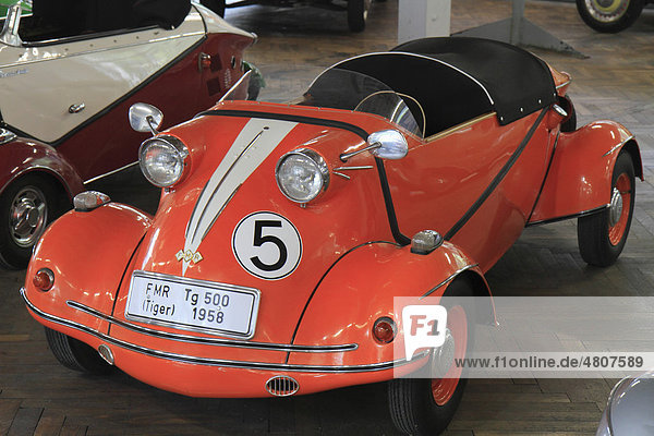 FMR TG500 Tiger  Oldtimer  Baujahr 1958  ErfinderZeiten Auto- und Uhrenmuseum Schramberg  Schwarzwald  Baden-Württemberg  Deutschland  Europa