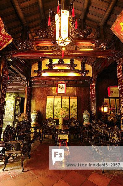Tan Ky Haus  Hoi An  Vietnam  Südostasien