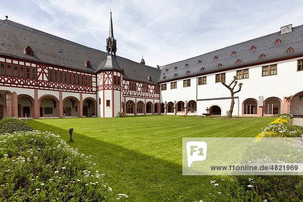 Kloster Eberbach  Eltville am Rhein  Rheingau  Hessen  Deutschland  Europa Kloster Eberbach, Eltville am Rhein, Rheingau, Hessen, Deutschland, Europa
