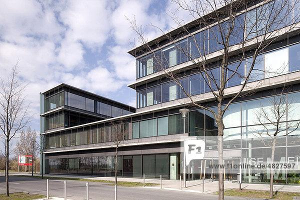Lise-Meitner-Haus  Physikinstitut der Humboldt-Universität  Wissenschaftsstadt Adlershof  Berlin  Deutschland  Europa