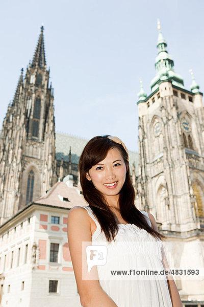 Frau Kathedrale frontal