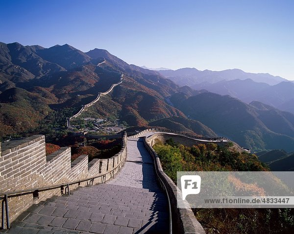 Asia  Barrier  China  Fortification  Fortified  Great  Great Wall of China  Great Wall  Holiday  Landmark  Tourism  Travel  Vaca