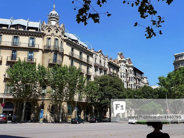 Straße  Barcelona  Spanien