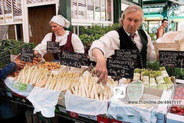 Wien  Hauptstadt  Gemüse  Österreich  Markt  Naschmarkt
