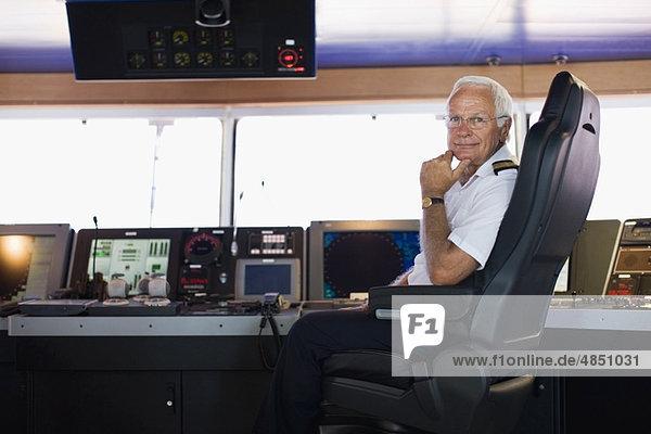Portrait eines Kapitäns