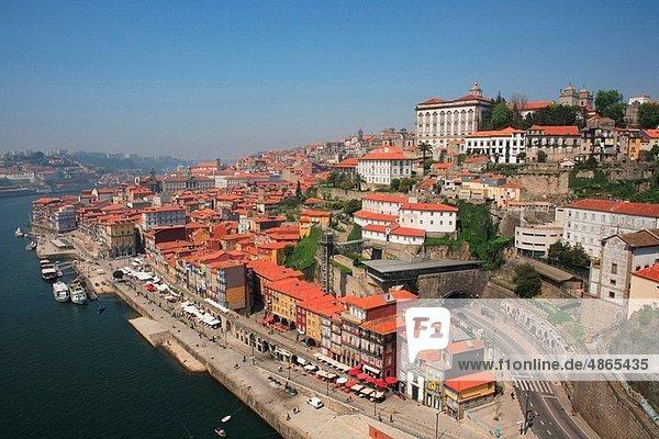 Portugal  Oporto  Old Town and Douro River