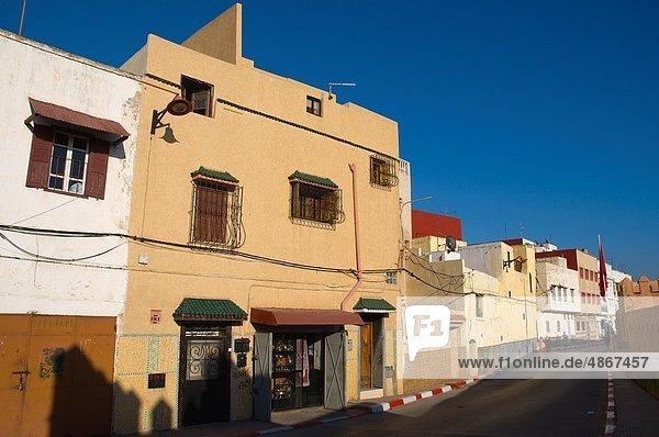 Gebäude Stadt Nachbarschaft Afrika alt