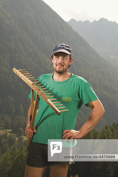 Biobauer  Ahrntal  Südtirol  Italien  Europa
