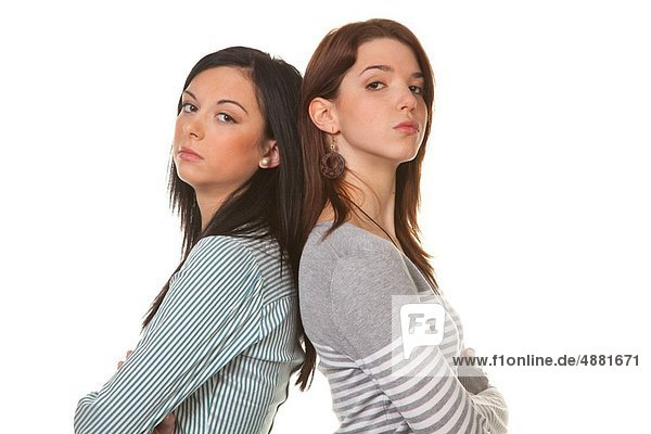 Frau  Konflikt  2  jung