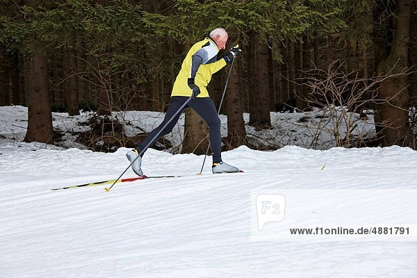 Senior  Senioren  Winter  Skisport  Schnee