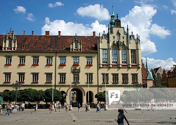 Großstadt  Breslau
