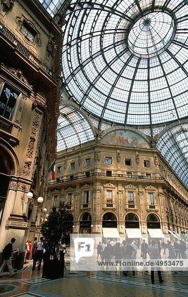 Italien  Lombardei  Mailand  Galleria Vittorio Emanuele