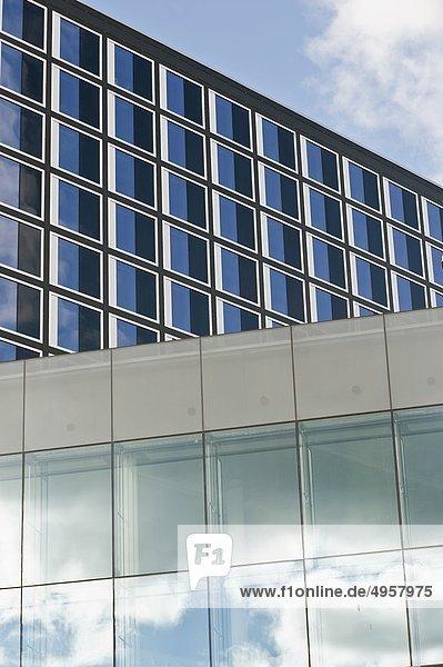 Gebäude Fassade Hausfassade modern