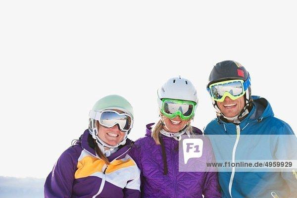 Italien  Trentino-Südtirol  Südtirol  Bozen  Seiser Alm  Skigruppe  Lächeln
