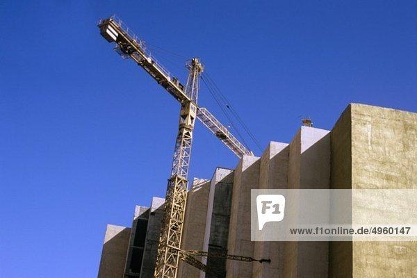 Amman  Jordanien  Gebäudeansicht mit Kran