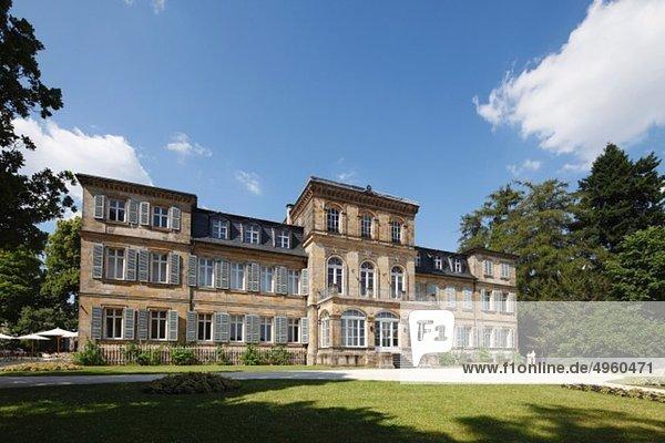 Deutschland  Bayern  Franken  Oberfranken  Blick auf Schloss Fantaisie