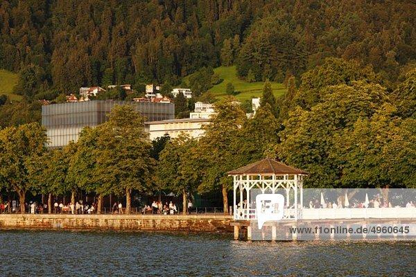 Österreich  Vorarlberg  Bregenz  Blick auf den Bodensee Österreich, Vorarlberg, Bregenz, Blick auf den Bodensee