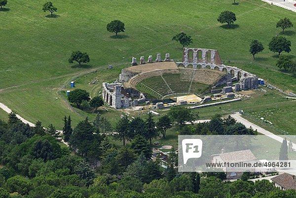 Italy  Umbria  Gubbio  Roman Theater