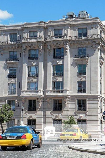 Gebäude Architektur Kreis Taxi Nachbarschaft Baltimore Maryland