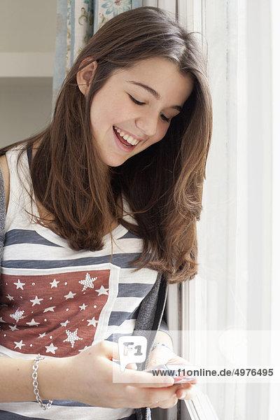 Portrait  Jugendlicher  Prüfung  Mädchen
