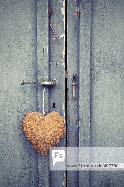 Tür mit Herz