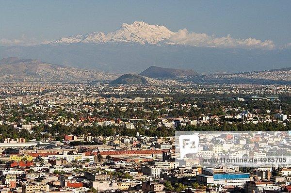 Großstadt  Mexiko  Ansicht  Nachmittag  Luftbild  Fernsehantenne