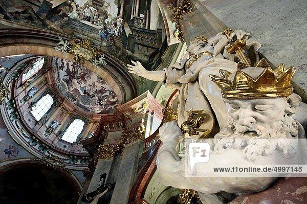 Prag Hauptstadt Tschechische Republik Tschechien Barock