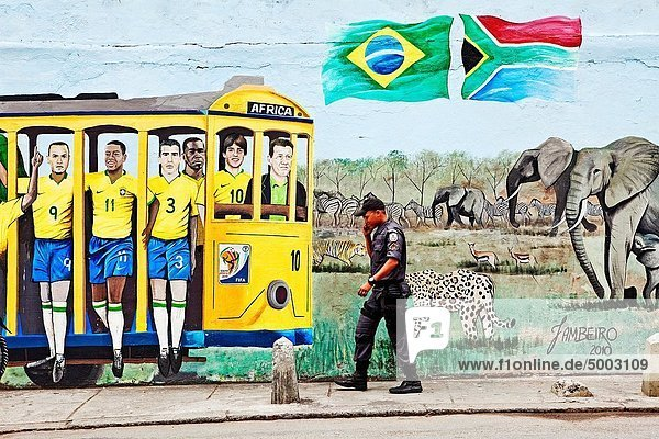 Geschichte  Schienengleis  Brasilien  Rio de Janeiro
