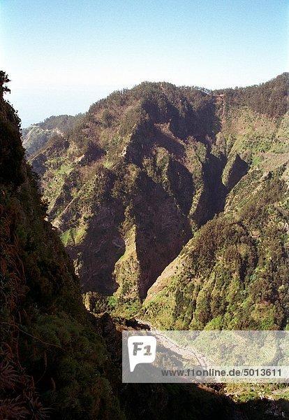 nahe  Berg  Tal  Madeira