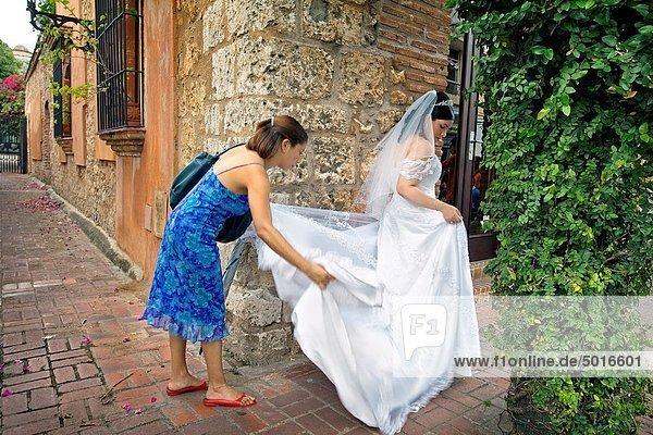 Santo Domingo  Hauptstadt  Hochzeit  Karibik  Westindische Inseln  Dominikanische Republik