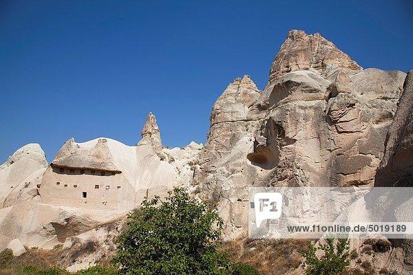 Landschaft Anatolien Asien Kappadokien Türkei