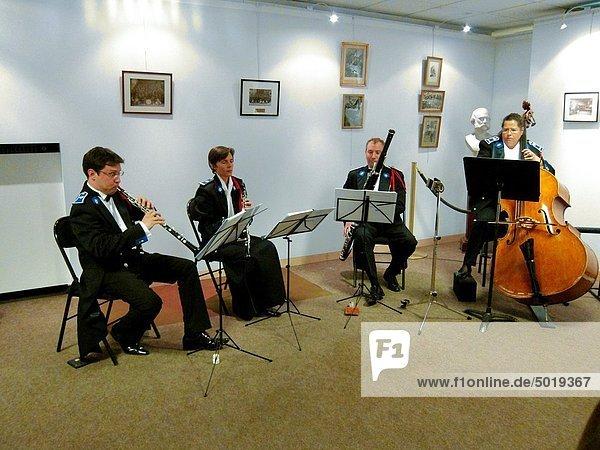 Paris  France  Classical Music Concert in the Musee de la Prefecture de Paris  Police Museum