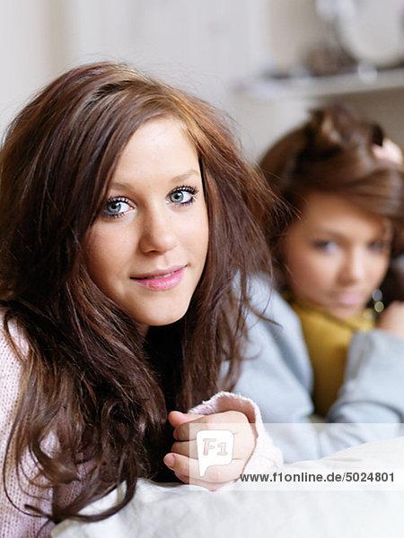 Zwei Teenager Porträt