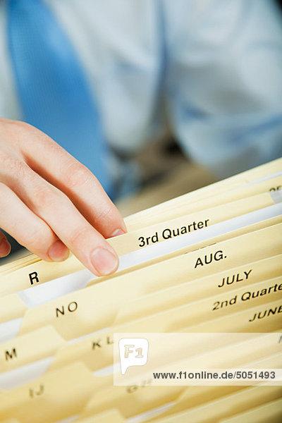 Office Worker-Anmeldung-Dokument