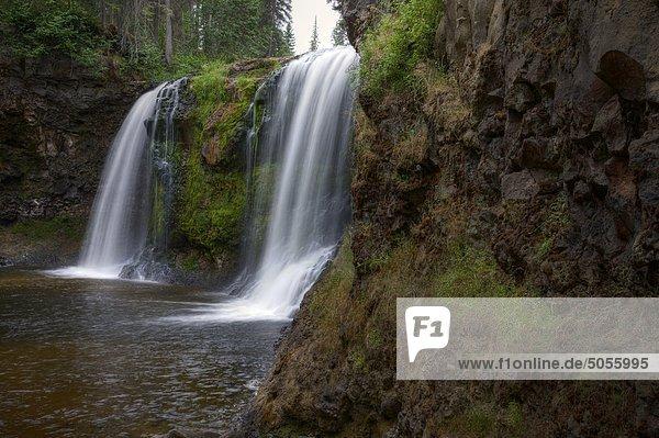 Moffat Creek Falls in British Columbia Kanada
